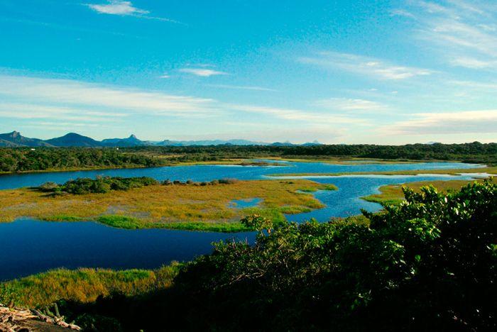 Passeio na reserva ambiental Paulo Cesar Vinha