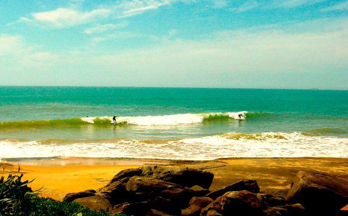 Prática de Surf