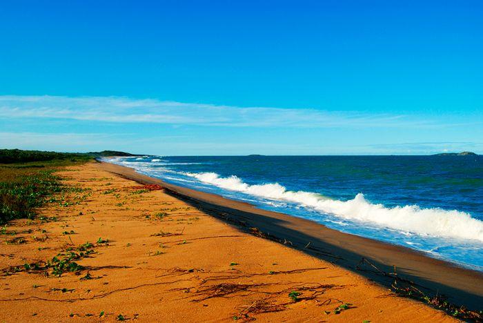 Praia da reserva ambiental Paulo Cesar Vinha